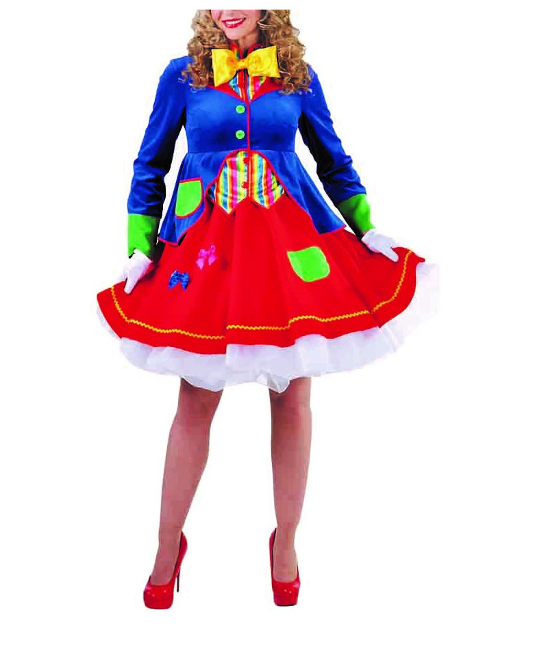 Donna clown lucky