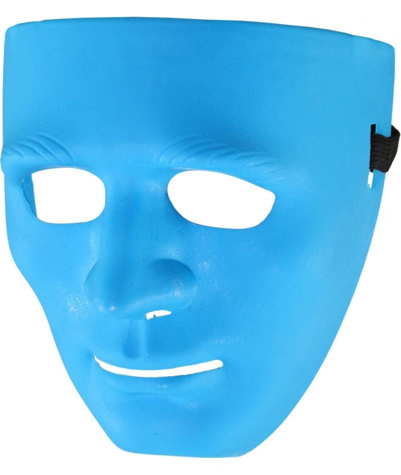 Maschera basic azzurra