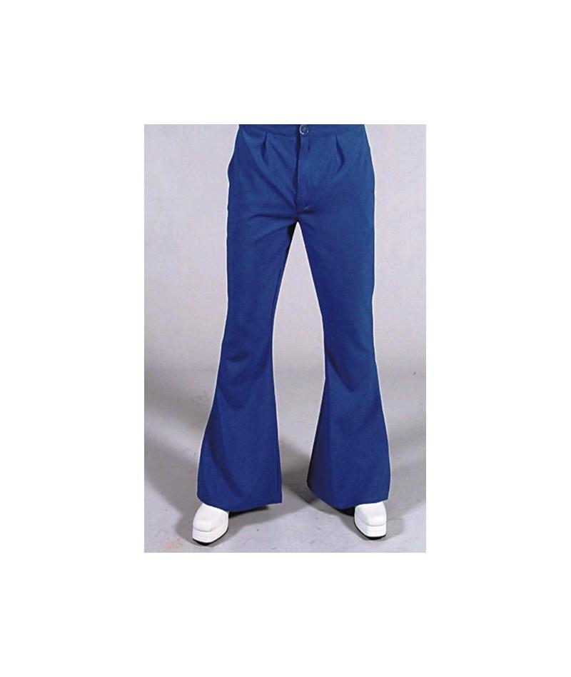 Pantaloni hippy '70 blu
