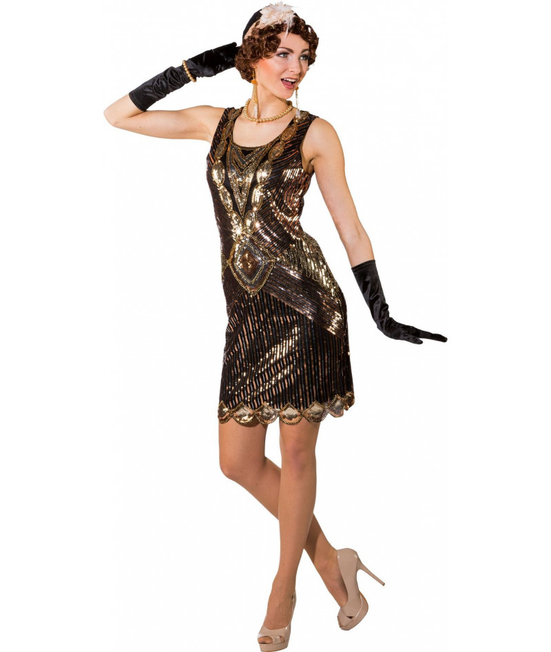 Lady charleston flapper