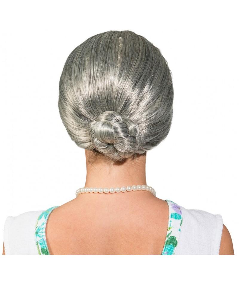 Parrucca vecchia nonnina