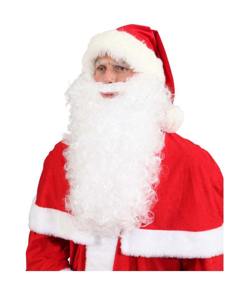 Parrucca bianca Babbo Natale