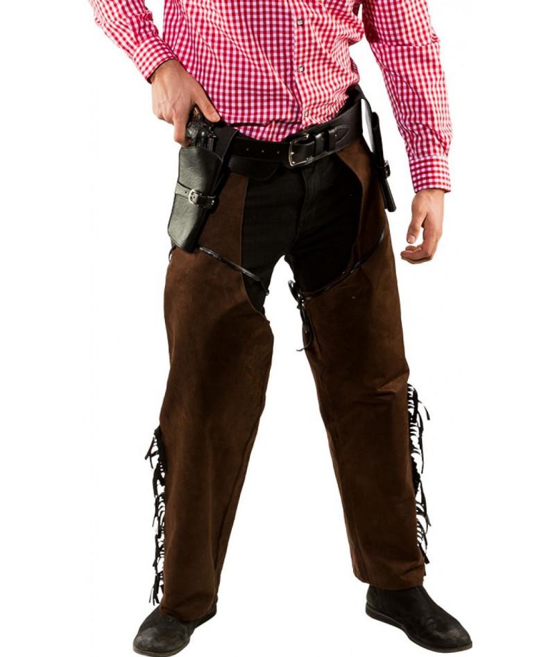 Pantaloni chaps