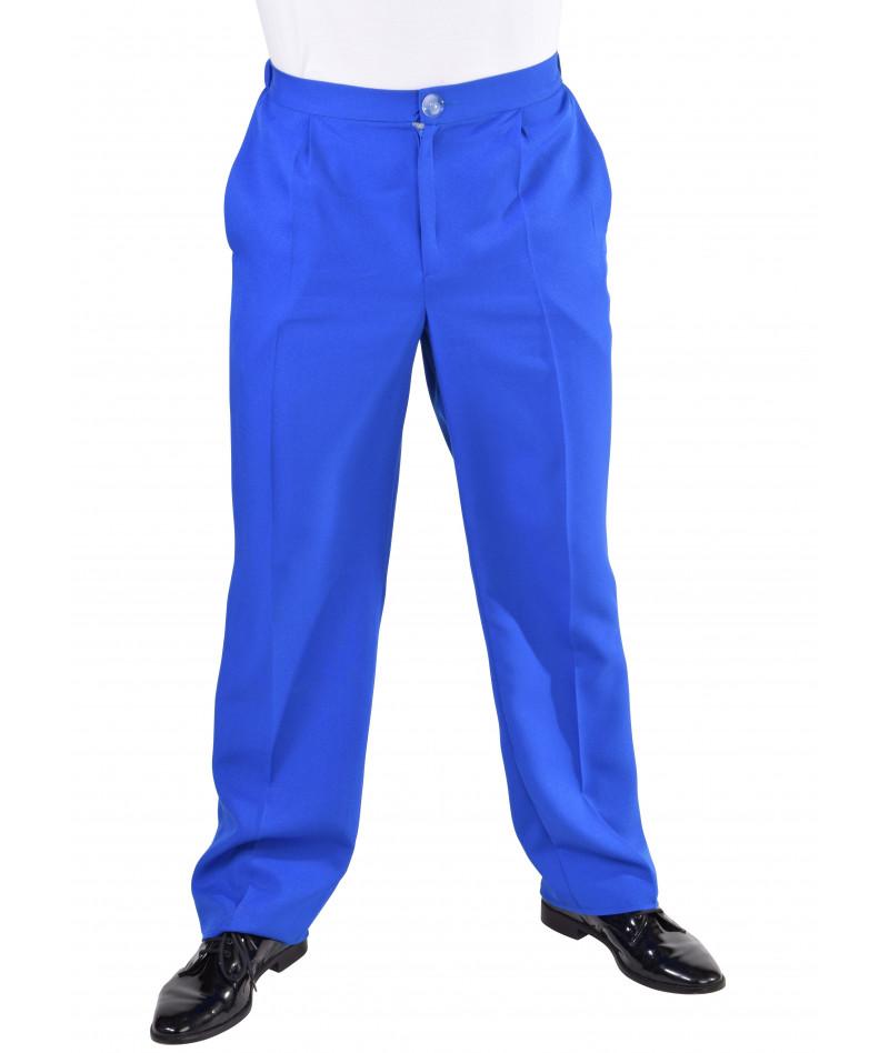 Pantaloni classici blu...