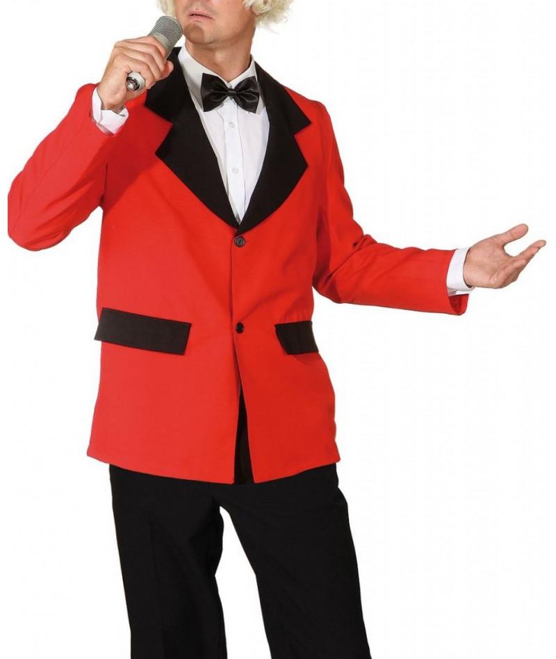 Giacca uomo orchestra rosso
