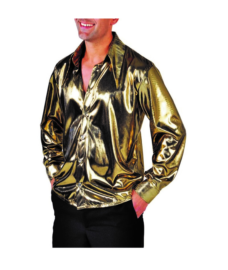 Camicia uomo oro lux
