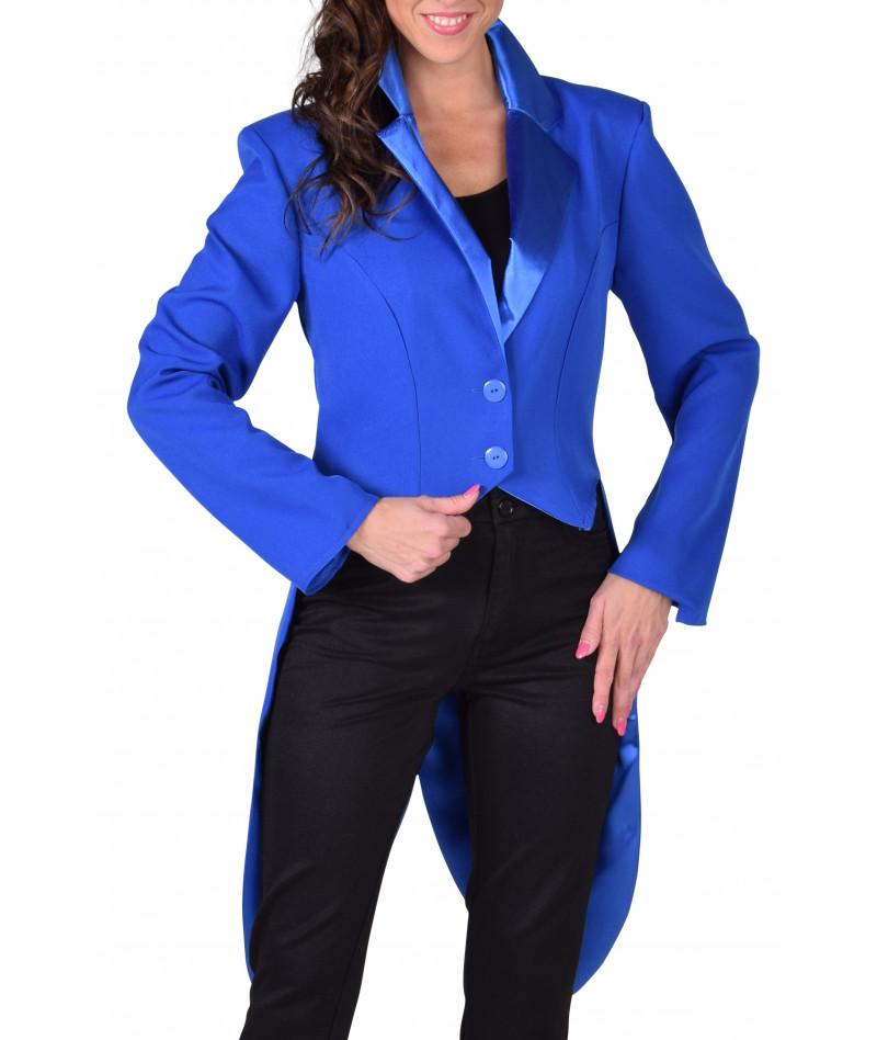 Frac lusso blu donna