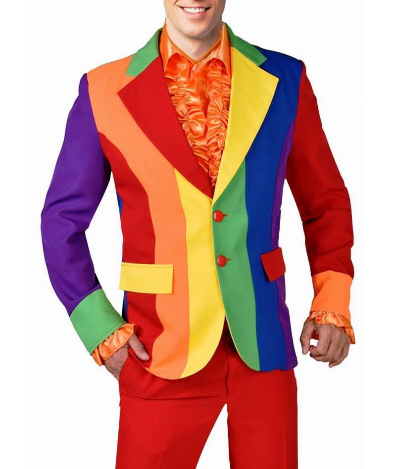 Giacca da uomo arcobaleno