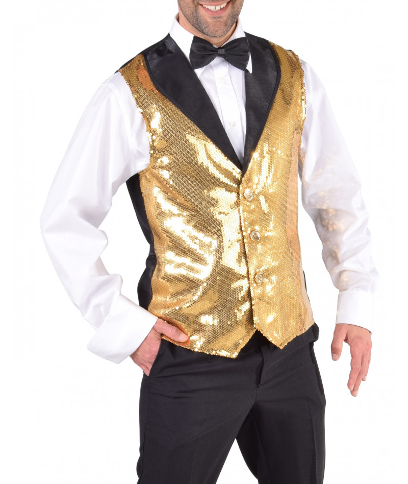 Gilet lux gold
