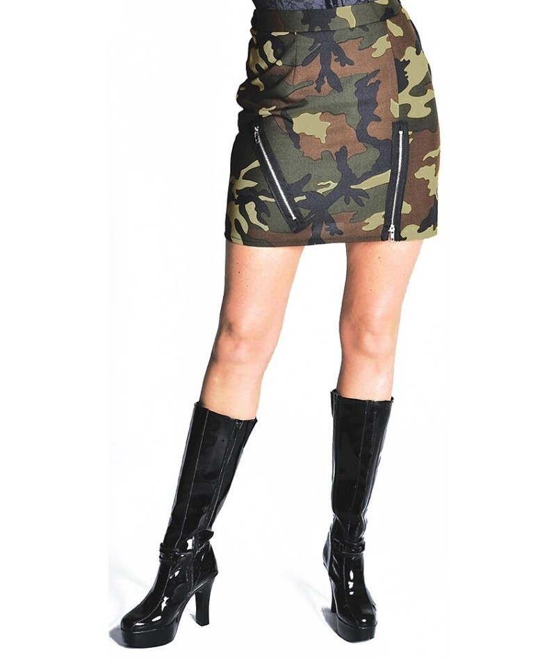 Minigonna militare