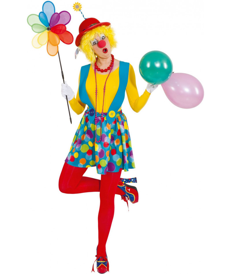 Clown salopette gonna